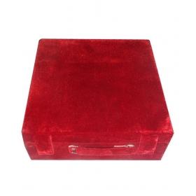 3 Roll Rod Wodden Velvet Bangles Box