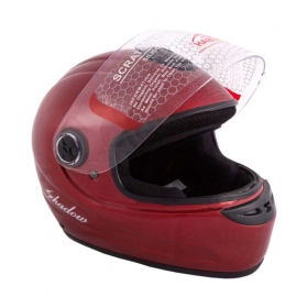 Autofy Habsolite Shadow - Full Face Helmet Red M