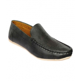 Mens Black Loafers