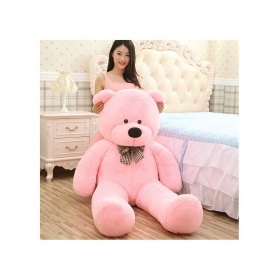 Pink Fabric Teddy Bear - 152cm