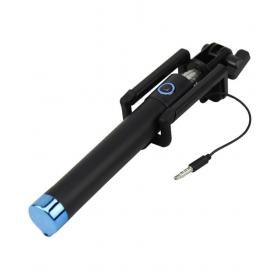 Blue Aux Wire Selfie Stick - 78 Cm