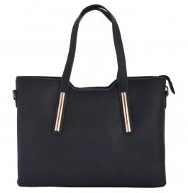 Azzra Women's Handbag (black)(awohb0102-blak)