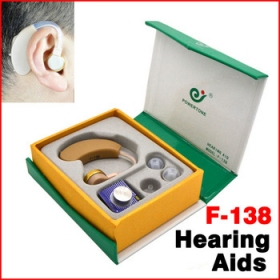 Axon F-138 Tone Hearing Aids Aid Behind Ear Sound Amplifier