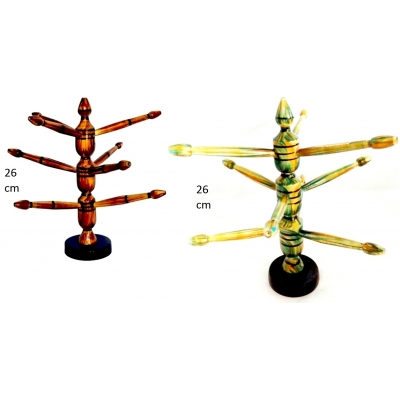 Woodenbangle Stand / Showpiece (combo Offer)