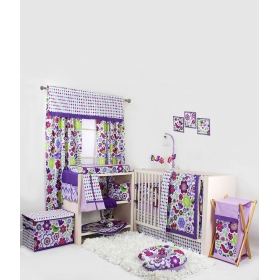 Multicolour Cotton Baby Bedding Set