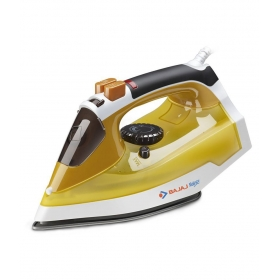 Bajaj Majesty Mx25 Steam Iron Yellow