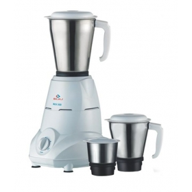 Bajaj Rex Mg Mixer Grinder White With 3 Jar