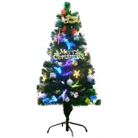 Aluminium Christmas Tree Green-3 Ft- (pack Of 1)