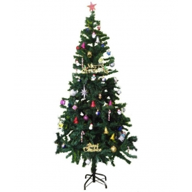 Bandekar Plastic Christmas Tree Green-4 Ft- (pack Of 1)