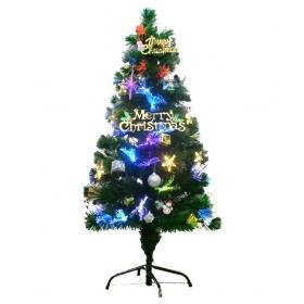 Steel Christmas Tree Multicolour-4 Ft- (pack Of 1)