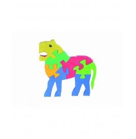 Puzzle Plain Colour Lion