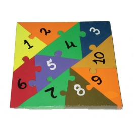 Puzzle Plain Colour 1,2,3,4