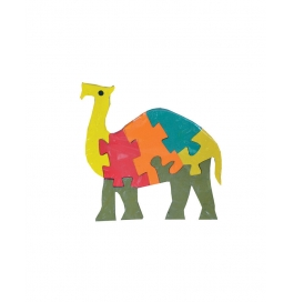 Puzzle Plain Colour Camel
