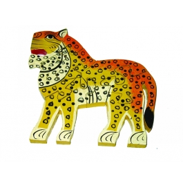 Puzzle Hand Painted Lion