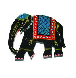 Puzzle Hand Painted Elephant