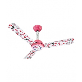 Usha 1200 Mm Kids Glam Barbie Ceiling Fan