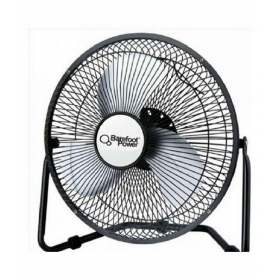 Barefoot Power 350 12v Table Fan Black