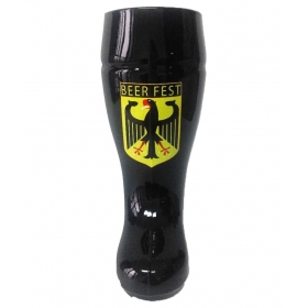 Printed Drink Boot Glass