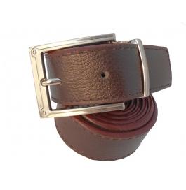 Mms Men Formal Brown Artificial Leather Reversible Belt