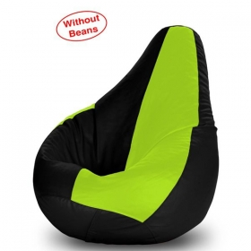 Xxl Bean Bag Cover- Green And Black