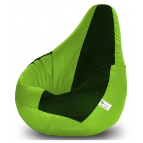 Bean Bag-xl F.green&b.green-filled(with Beans)