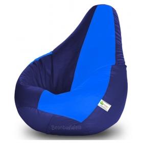 Bean Bag Xxl-n.blue&r.blue-filled(with Beans)