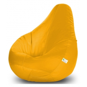 Bean Bag-xxxl Yellow -with Fillers/beans