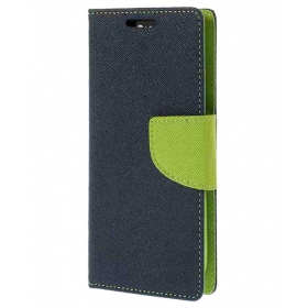 Beatz Wallet Case Flip Cover For Samsung Galaxy S3 I9300 - Blue