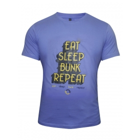 Blue Round Neck Tshirt