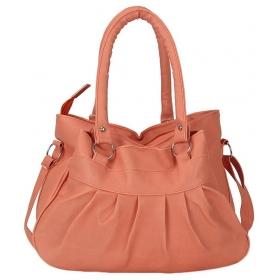 Peachpuff P.u. Shoulder Bag