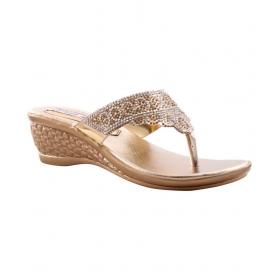 Gold Wedges Heels