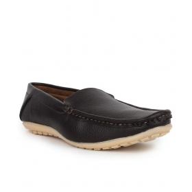 Mens Black Loafers