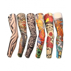 Multicolour Tattoos Arm Sleeves - Pack Of 1