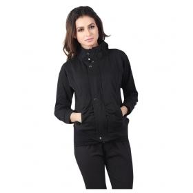 Black Fleece Parka Jackets