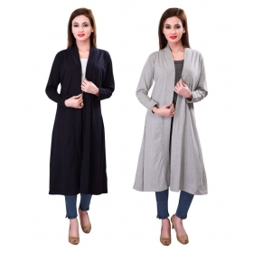 Full Sleeves Viscose Shrugs For Women