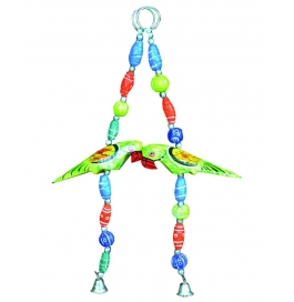 Curtain Hanging Small 3d Parrot