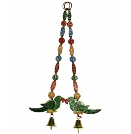 Curtain Hanging Small Plate Parrot