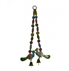 Curtain Hanging Small Plate Peacock