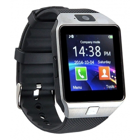 T30 Silver Fitness Sim And Memory Card Support Smart Watches Black
