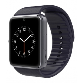 T50 Black With Bluetooth, Sim And Memory Support Smart Watches Black