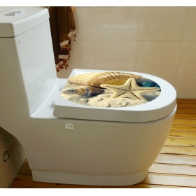 M2-1006 Sea Creatures  Toilet & Bathroom Wall Sticker  Jaamso Royals
