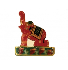 Key Stand Red Elephnat