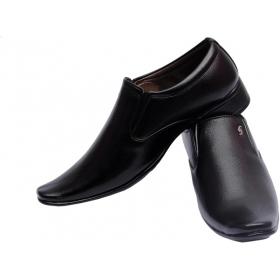 Slip On Formal Shoes  (black)