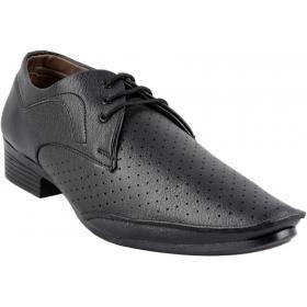 Mens Comfort Lace Up Shoes (black)