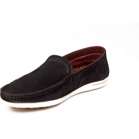 Contablue Penny Loafers Shoes (black)