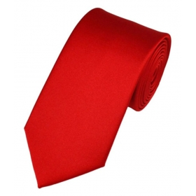 Blackmail Tie Red Party Necktie