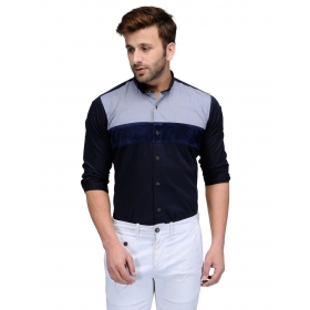 Edjoe Men's Slimfit Club/partywear Shirt, Bledms0191