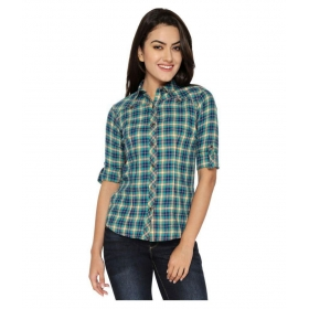 Checks Multicolor Cotton Shirt