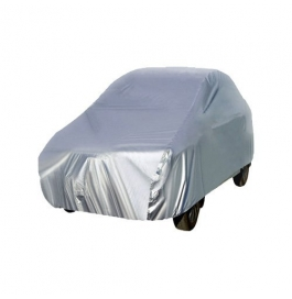 Hyundai New Verna Autofit  Silver Matty Car Cover