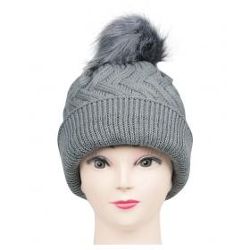 Women's Knitted Woolen Skull Cap